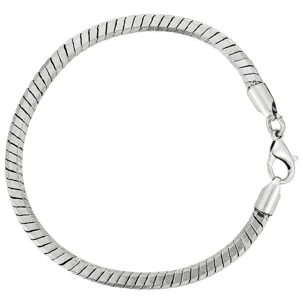 Herren Armband - Silver Snake