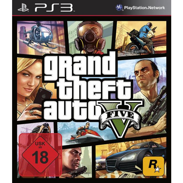 Rockstar Games Grand Theft Auto V (100% UNCUT)