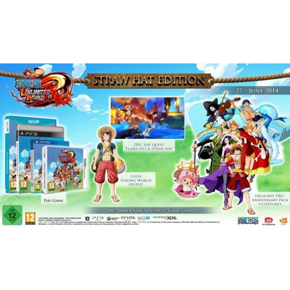 BANDAI NAMCO One Piece Unlimited World Red - Strohhut Edition