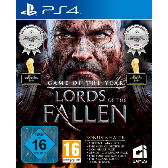 City Interactive Lords of the Fallen - Game of the Year-Edition