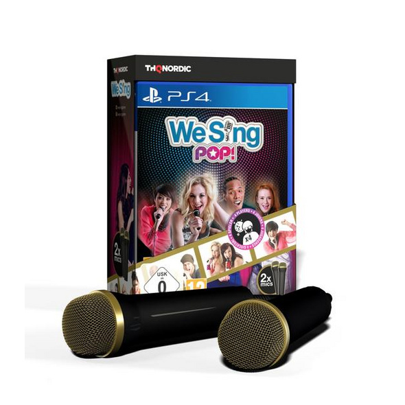 We Sing Pop! inkl. 2 Mikrophone