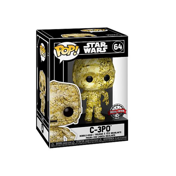 Star Wars - POP! Vinyl Figur C-3PO (Exklusiv bei GameStop!)