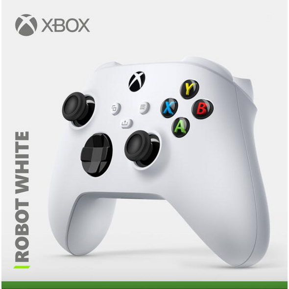 Xbox Wireless Controller Robot White (kompatibel mit Xbox Series X/S)