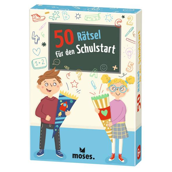 50 Rätsel für den Schulstart