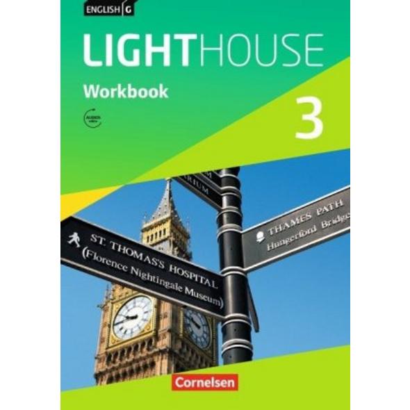 English G LIGHTHOUSE 3: 7. Schuljahr. Workbook mit