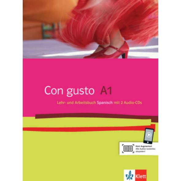 Con gusto A1. Lehr- und Arbeitsbuch. Mit 2 Audio-C