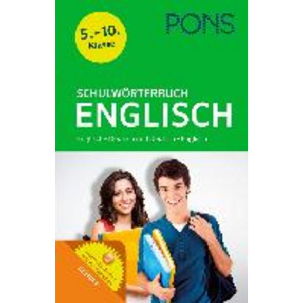 PONS Schulwörterbuch Englisch