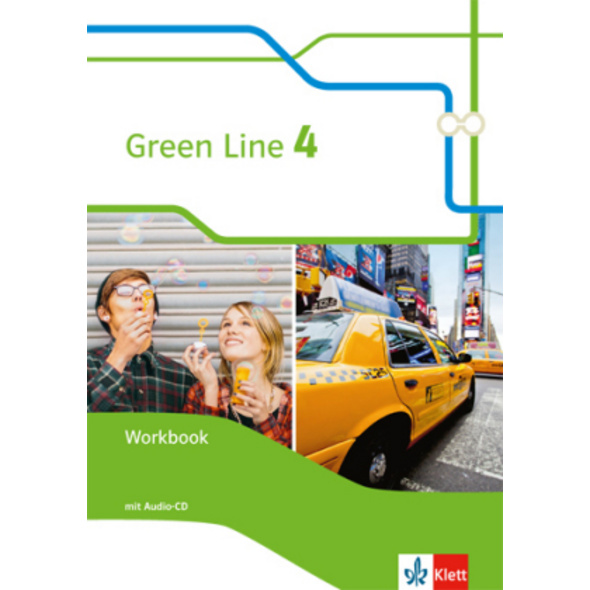 Green Line 4. Workbook mit Audio-CD Klasse 8