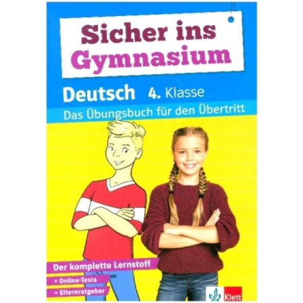 Sicher ins Gymnasium Deutsch 4. Klasse