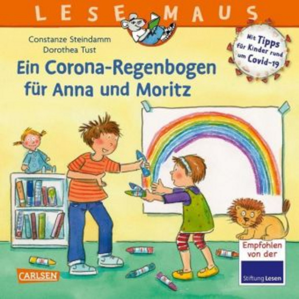 LESEMAUS 185: Ein Corona Regenbogen für Anna und M