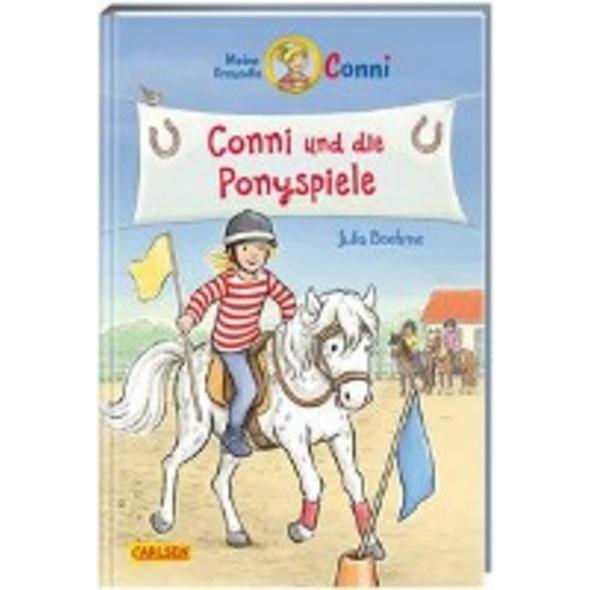 Conni-Erzählbände 38: Conni und die Ponyspiele