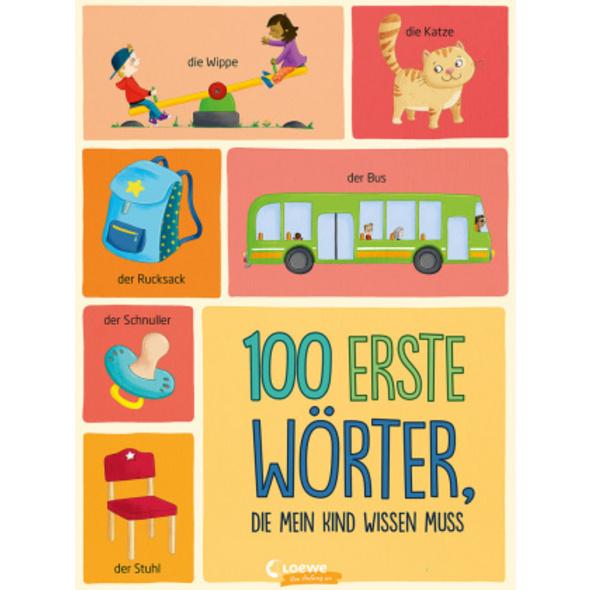 100 erste Wörter, die mein Kind wissen muss