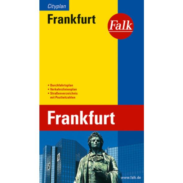 Falk Cityplan Frankfurt 1 : 20 000