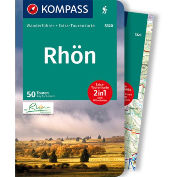 KOMPASS Wanderführer Rhön