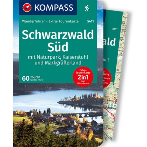 KOMPASS Wanderführer Schwarzwald Süd mit Naturpark