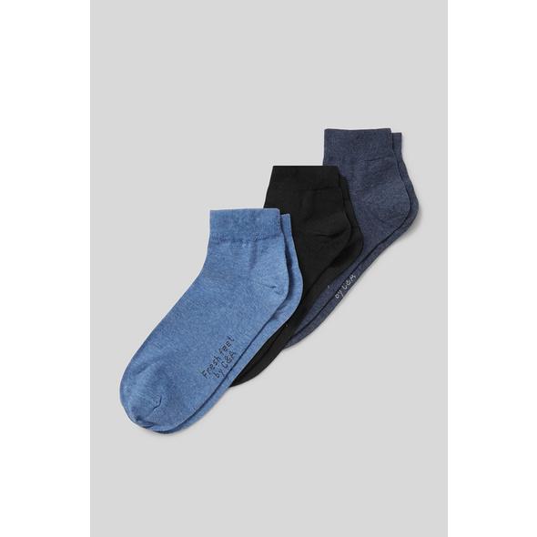 Sneakersocken - Bio-Baumwolle - 3 Paar - Aloe Vera