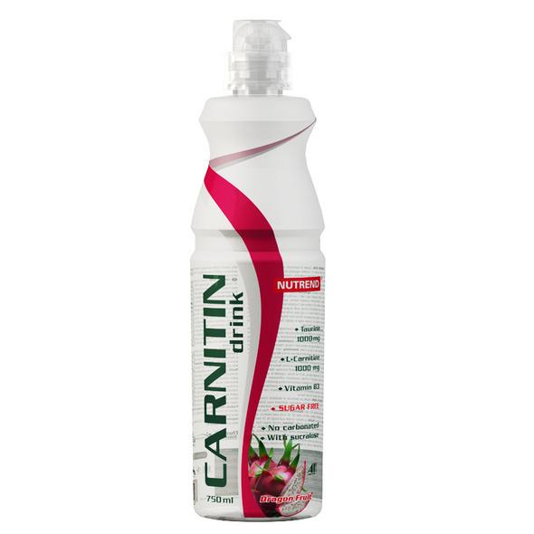 Nutrend Carnitin Activity Drink 750 ml-Eucalyptus Kiwi