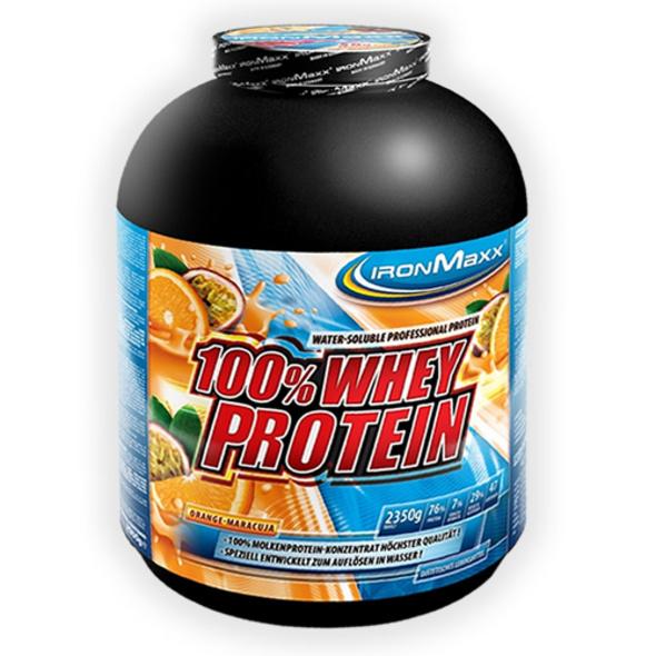 IronMaxx 100% Whey Protein 2350g-Haselnuss