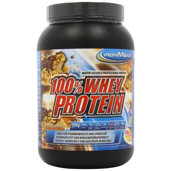 IronMaxx 100% Whey Protein 900g-Strawberry