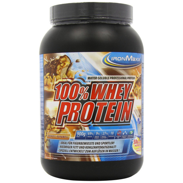 IronMaxx 100% Whey Protein 900g-French-Vanilla
