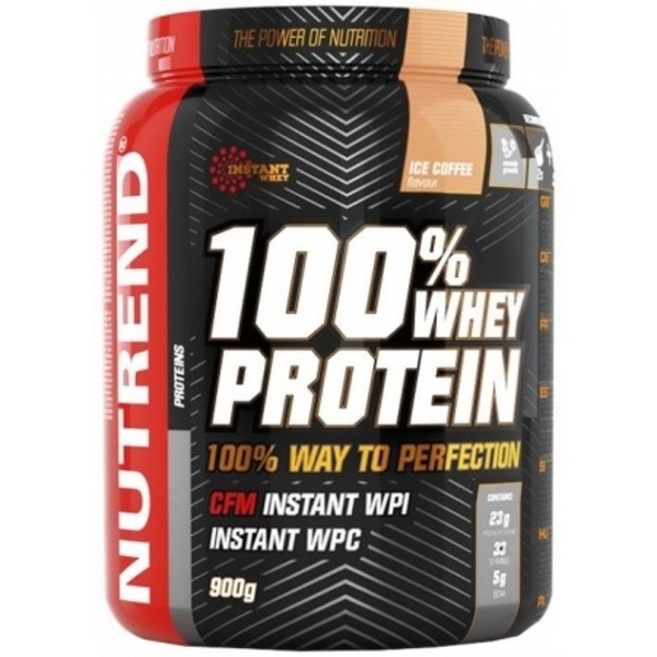 Nutrend 100% Whey Protein 900g-Banana