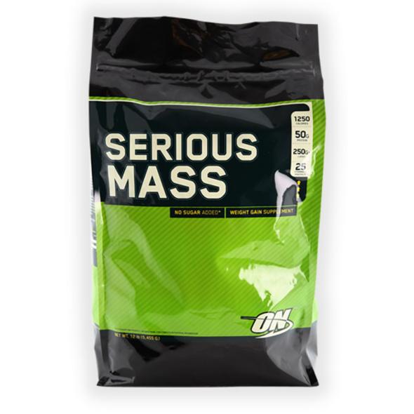 Optimum Nutrition Serious Mass 5440g-Chocolate