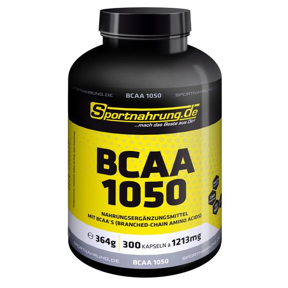 Sportnahrung.de BCAA 1050 300 Kaps.