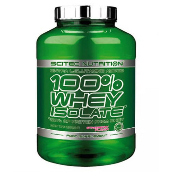 Scitec Nutrition 100% Whey Isolate 2000g-Pfirsich