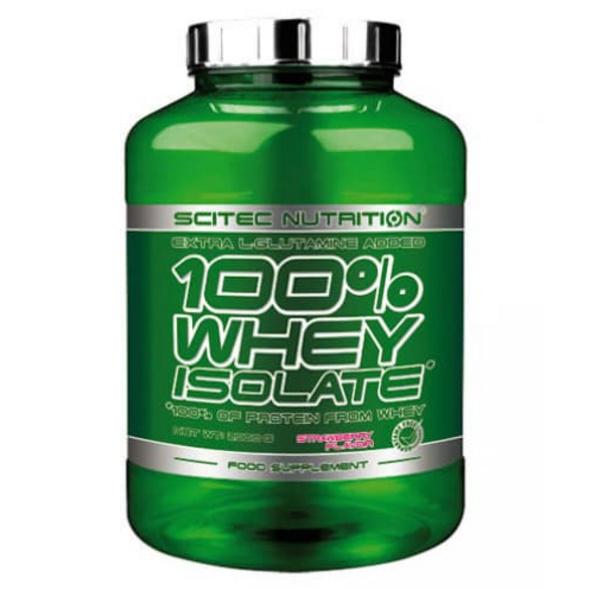 Scitec Nutrition 100% Whey Isolate 2000g-Banana