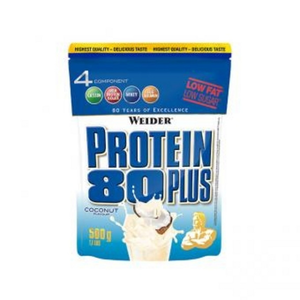 Weider Protein 80 Plus 500g-Brownie Double Choc