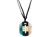 Kette - Marbled Amulet