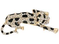 Brosche - Leopard Kitten