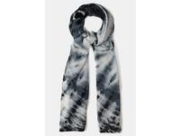 Schal, Batik-Look, Plissee-Qualität
