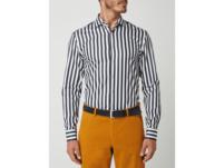 Slim Fit Business-Hemd aus Popeline