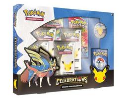 Pokémon Sammelkartenspiel: 25 Jahre Set Celebrations Deluxe-Pin Box