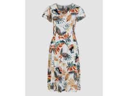 Kleid mit Tropicalprint