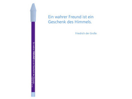 Bleistift lila, Friedrich der Große