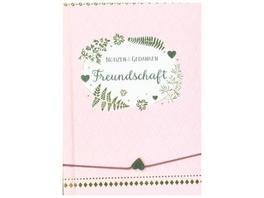 Notizbuch mit Freundschaftsband - Freundschaft