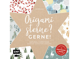 Origamisterne? Gerne! - Natural Christmas - Weihna