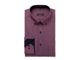 Modern Fit Hemd mit Vichy Karo