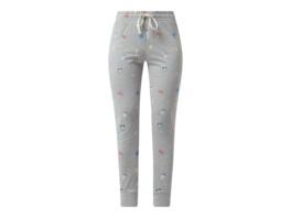 Pyjama-Hose mit Allover-Muster