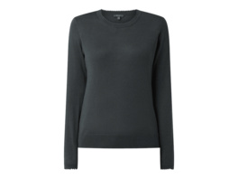 Pullover mit Zierborte