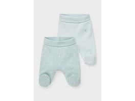 Multipack 2er - Baby-Hose - Bio-Baumwolle