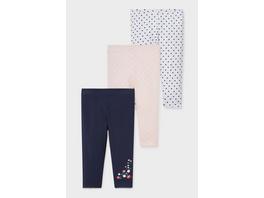 Multipack 3er - Baby-Leggings - Bio-Baumwolle