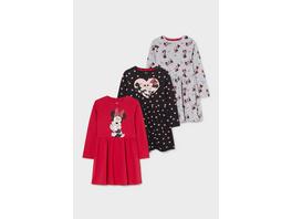 Multipack 3er - Minnie Maus - Kleid