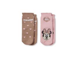 Multipack 2er - Minnie Maus - Baby-Anti-Rutsch-Socken