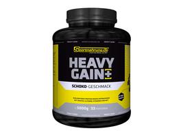 Sportnahrung.de Heavy Gain - der Top Weight Gainer angereichert mit Creatin. Glutamin. Vitaminen und MCT Haselnuss. 5000 g